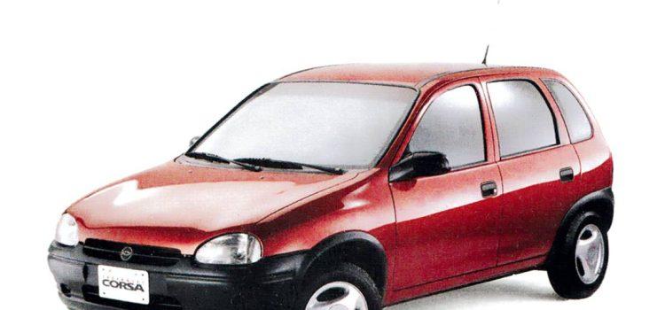 Chevrolet Corsa, lanzamiento en Colombia (1996)