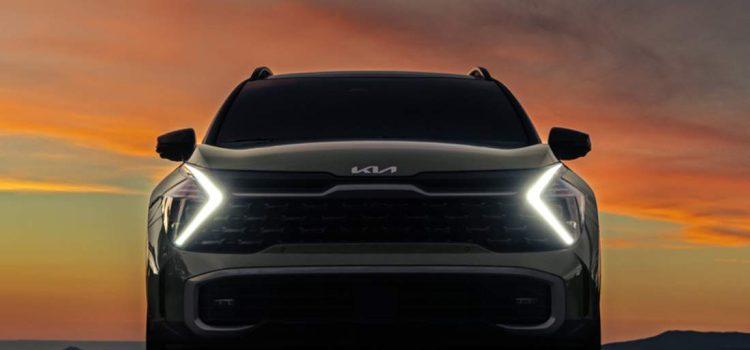 Kia Sportage 2022, adelanto en Estados Unidos.