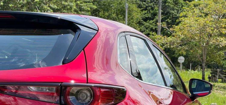 Mazda CX-30 spoiler trasero
