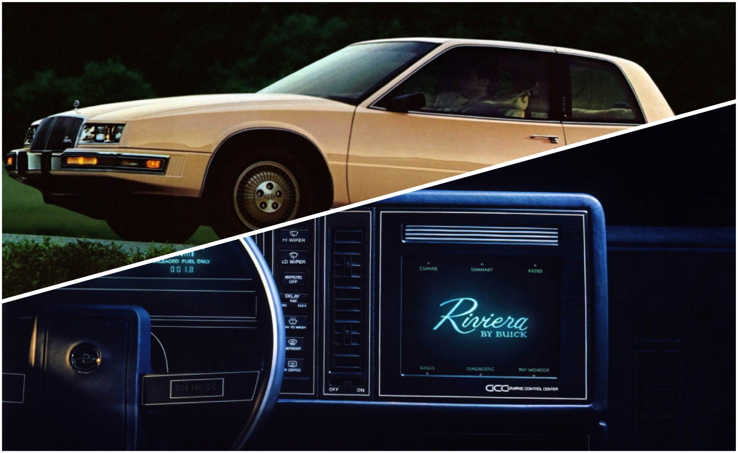 Buick Riviera 1986 primera pantalla táctil