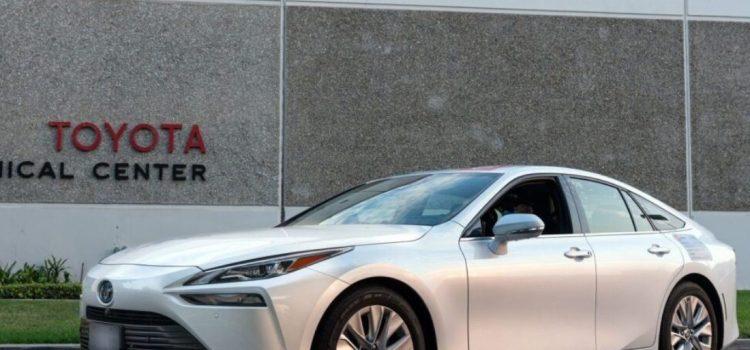 Toyota Mirai batió récord Guinnes
