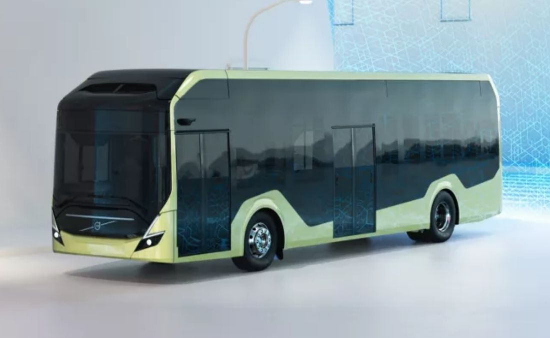 Volvo chasis bus electrico