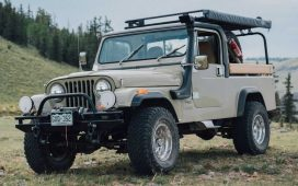 Jeep CJ-8 restomod