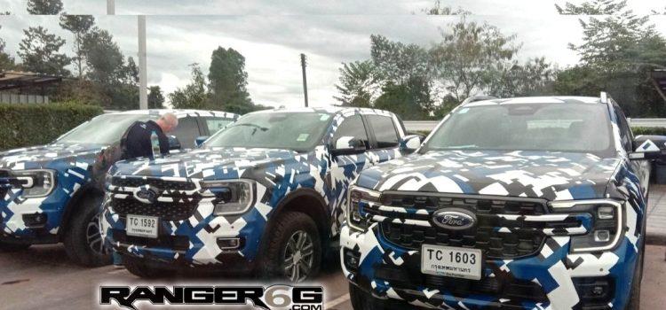 Ford Ranger 2023 fotos espía