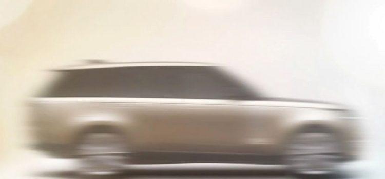 Range Rover 2022 teaser