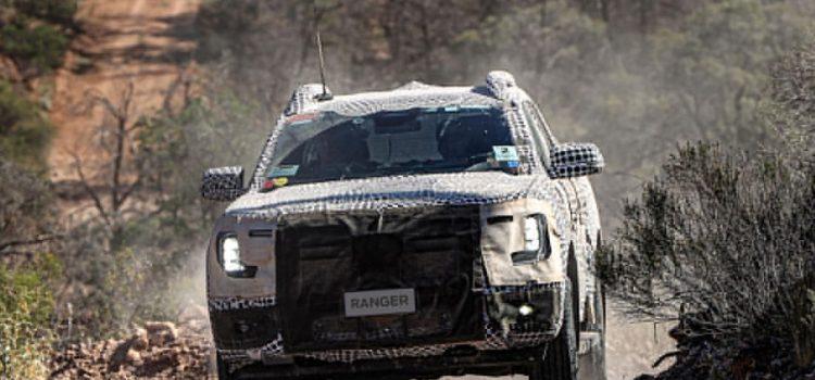Ford Ranger 2023 pruebas