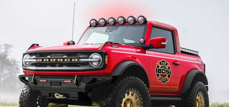 Ford Bronco SEMA Show 2021