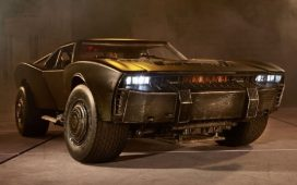 Batimovil Batman 2022