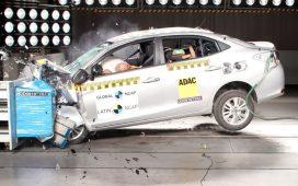 Toyota Yaris y Suzuki Baleno en Latin NCAP