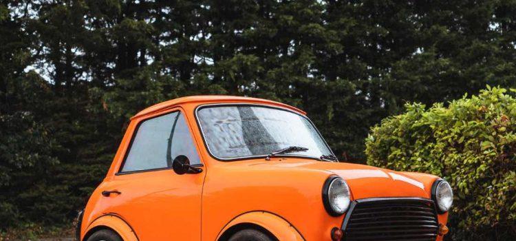 Morris mini shorty 1968